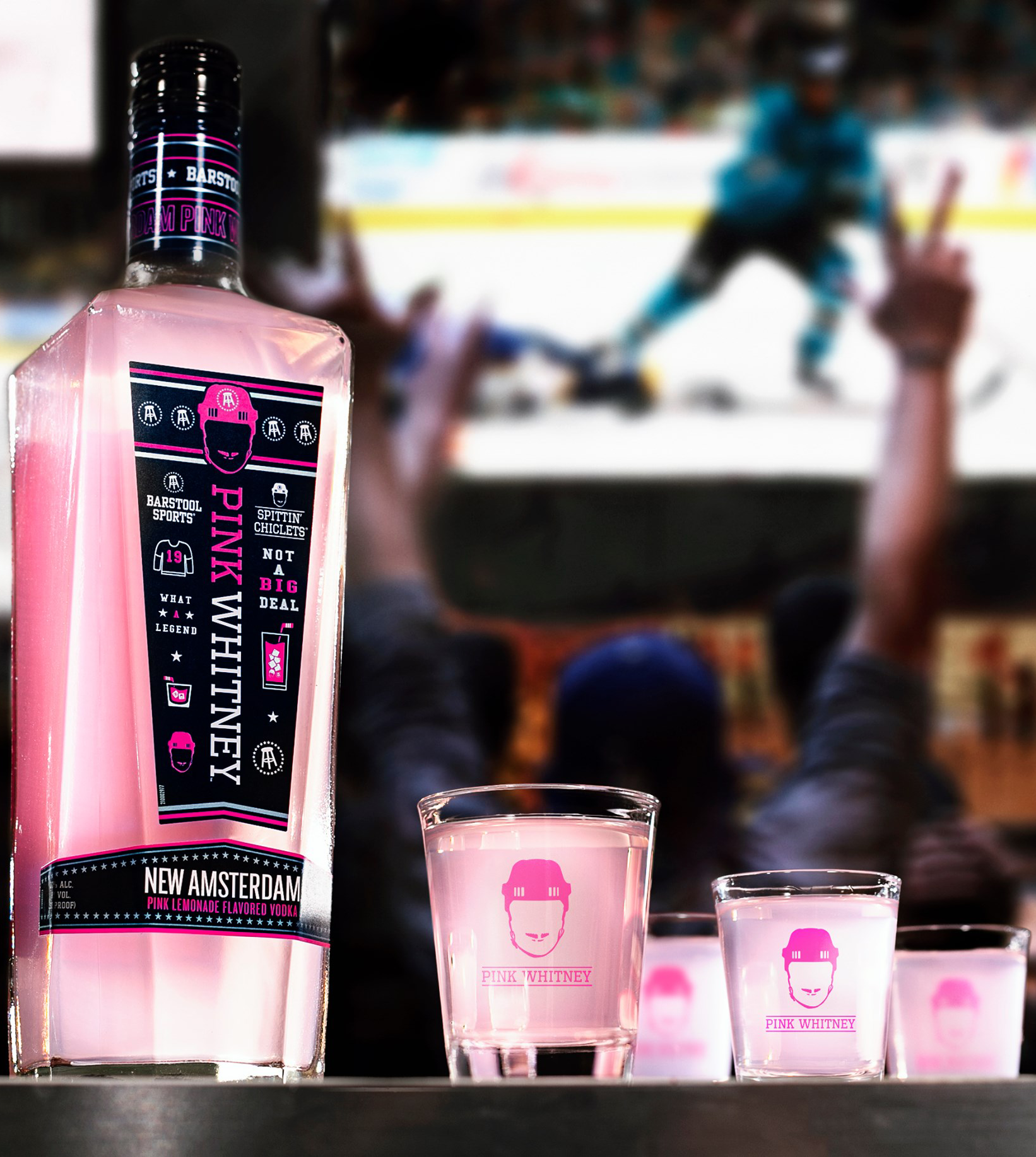 Our new Pink NAM Vodka